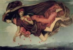 Night & Sleep, Evelyn de Morgan (British, 1850-1919)